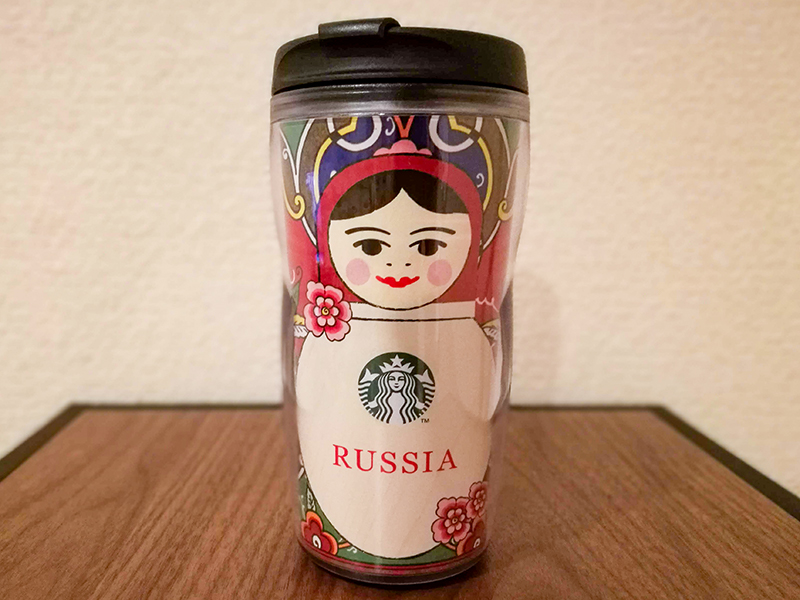 ロシア お土産 マトリョーシカ スタバ タンブラー