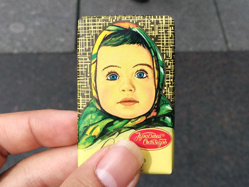 ロシア お土産 チョコ アリョンカ