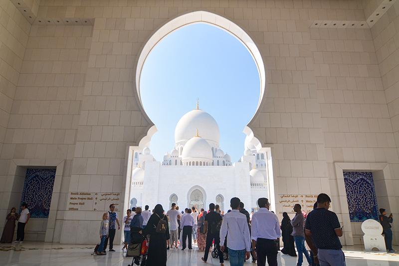 アブダビ シェイクザイードグランドモスク