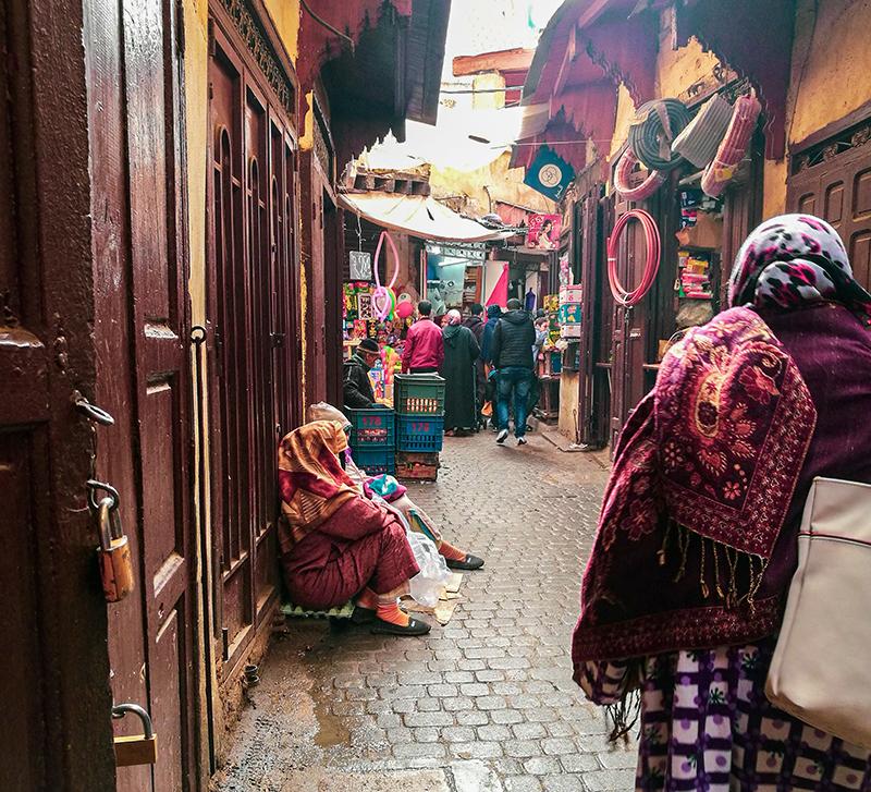 タンネリショワラ モロッコ フェズ 旧市街