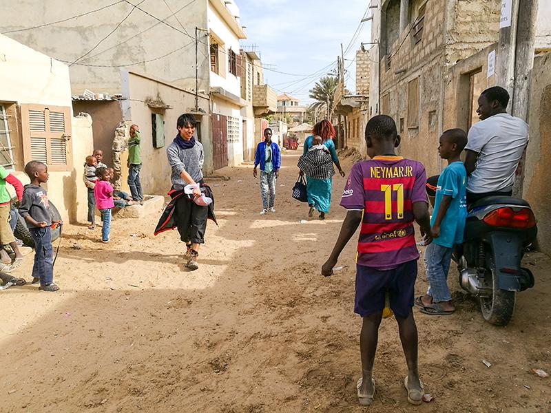 セネガル ダカール 旅 街歩き