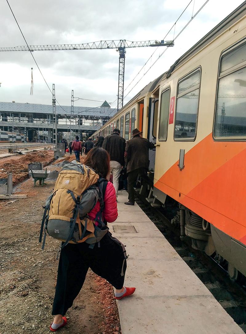 モロッコ 列車