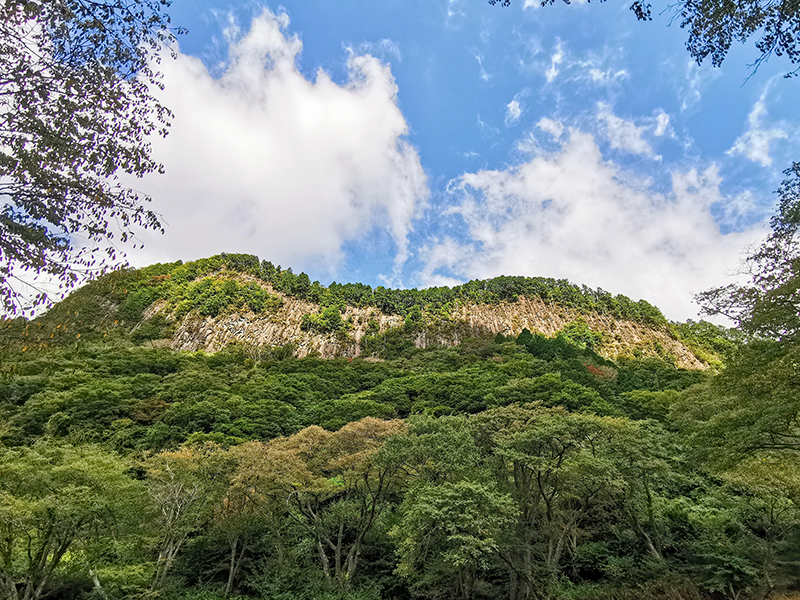 曽爾村 屏風岩