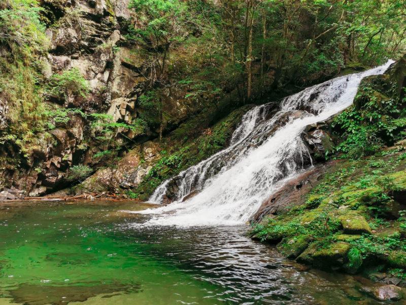 曽爾村 済浄坊の滝