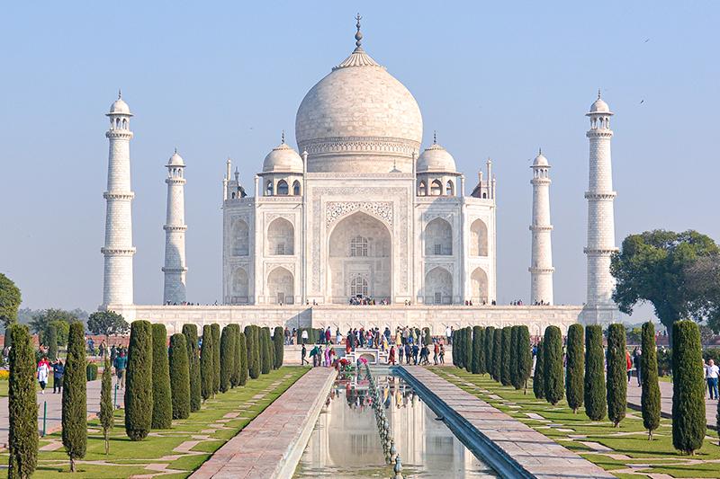 インド 女ふたり旅 アグラ タージマハル
