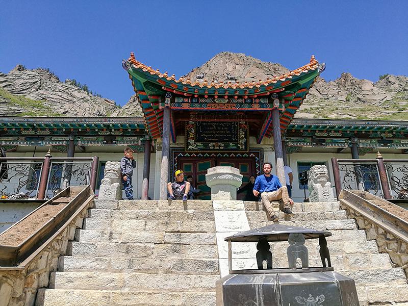 モンゴル旅行 アリヤバル寺院 Aryabal Meditation Temple