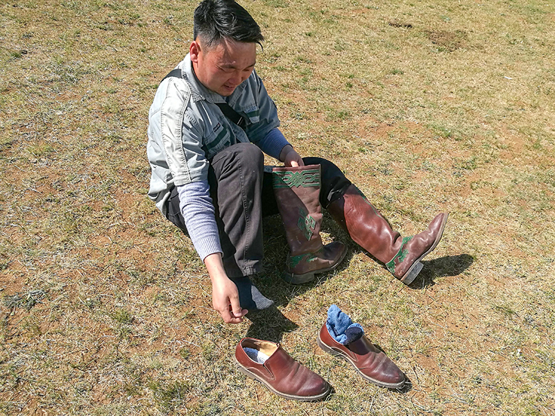 モンゴル旅行 乗馬体験
